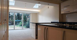 Ground floor rear extension - Residential & Architectural Designers in Swindon